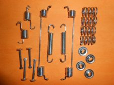FIAT PANDA Mk2 with ABS (2003-) not 4x4 REAR BRAKE SHOE FIXING KIT -GBK1074